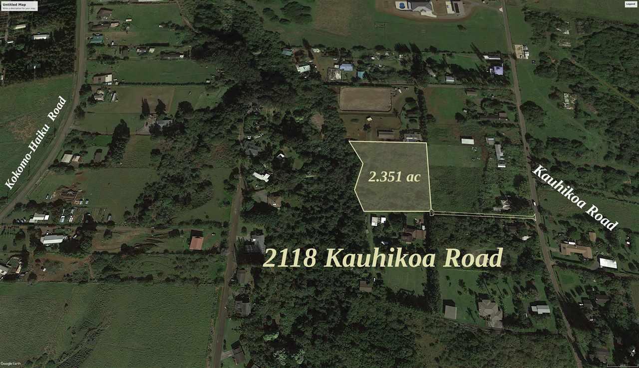 2118 Kauhikoa Rd  Haiku, Hi 96708 vacant land - photo 1 of 4