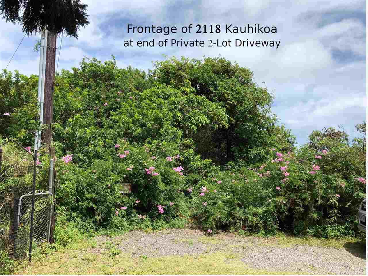 2118 Kauhikoa Rd  Haiku, Hi 96708 vacant land - photo 2 of 4